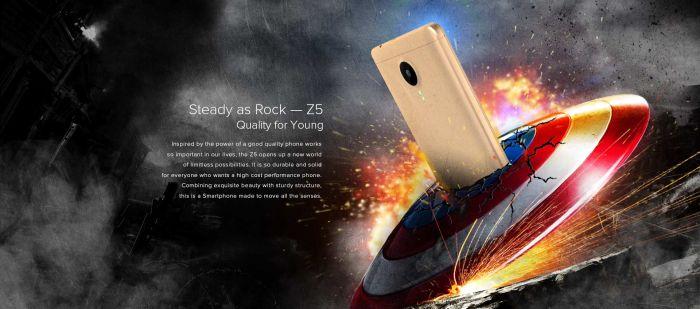 Leagoo Z5 бюджетник с 4-ядерным чипом на AliExpress по цене $39,99 - $45,99 – фото 2