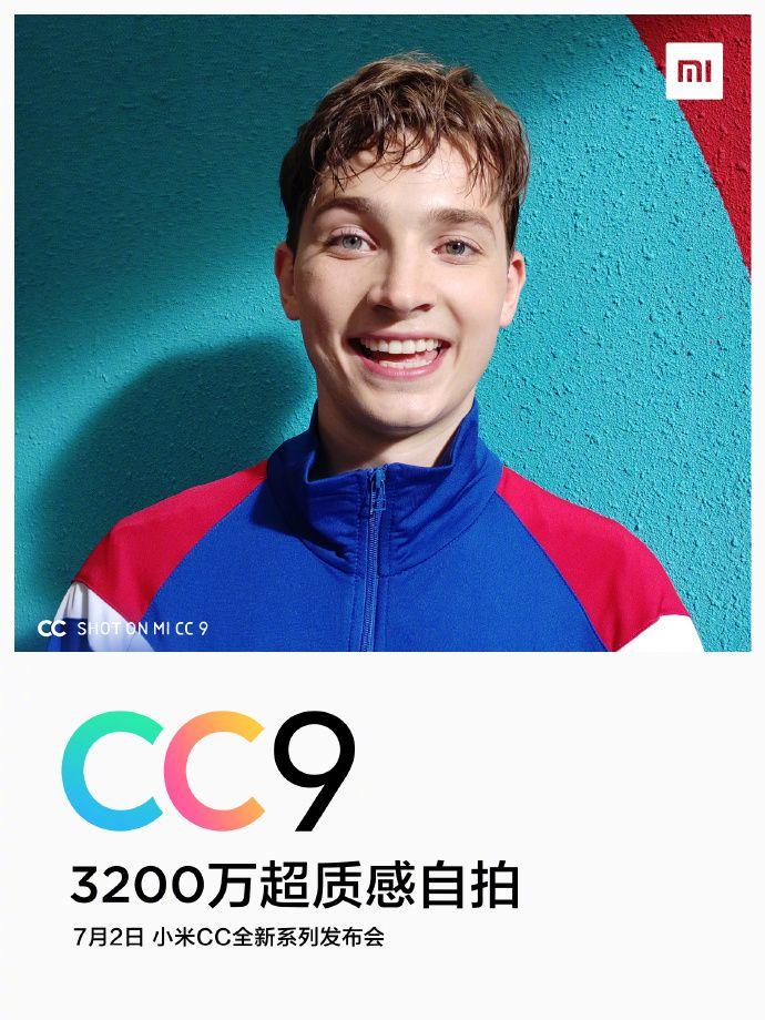 Официально: смартфон Xiaomi CC9 предложит 32 Мп фронтальную камеру – фото 1