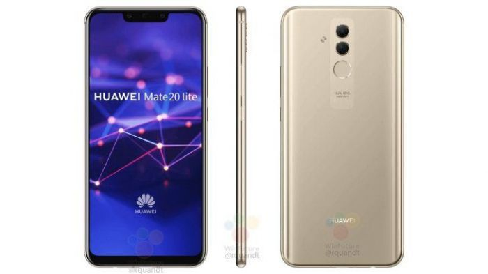 Huawei Mate 20 Lite: рендеры, характеристики и цена в Европе – фото 1