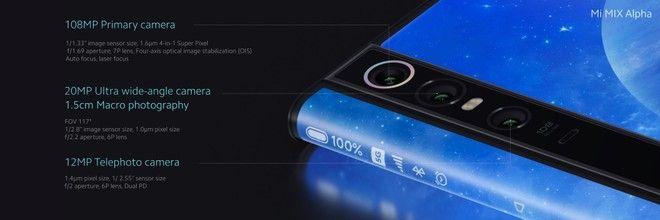 Анонс Xiaomi Mi MIX Alpha: концепт из будущего с опоясывающим экраном и 108 Мп камерой – фото 7