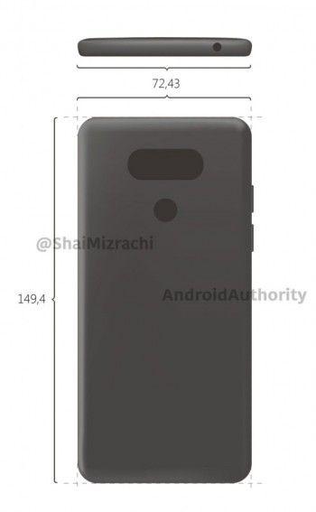 LG G6 впервые показал себя на рендерах – фото 2