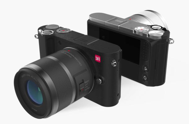 YI M1 - беззеркальная камера с сенсором Sony на 20 Мп, сменными объективами и поддержкой 4К-видео – фото 1