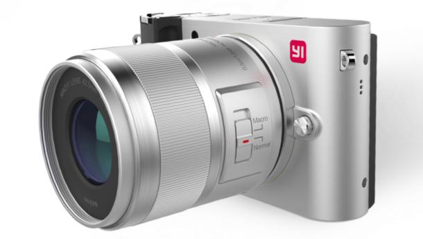 YI M1 - беззеркальная камера с сенсором Sony на 20 Мп, сменными объективами и поддержкой 4К-видео – фото 2