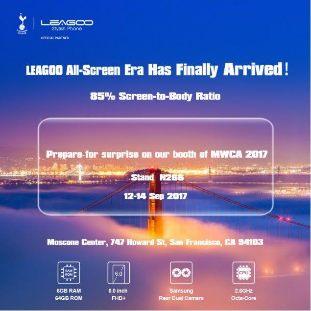 Leagoo объявила о своем участии в MWCA 2017, где покажет безрамочный смартфон – фото 1