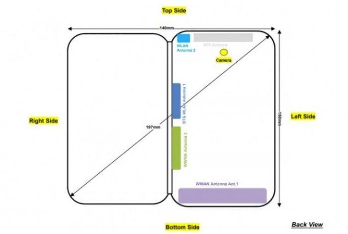 Складной смартфон ZTE Axon Multy замечен в FCC и Geekbench – фото 2
