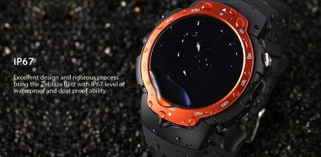 Смарт-часы Zeblaze Blitz  со встроенной поддержкой 3G и Android 5.1 показались на видео – фото 1