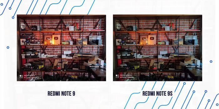Redmi Note 9 - ночное фото