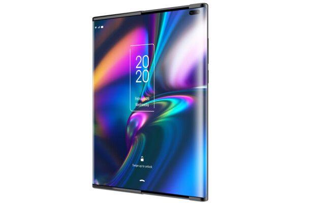TCL показала две концепции гибких смартфонов: с раздвижным дисплеем и складывающийся втрое – фото 4