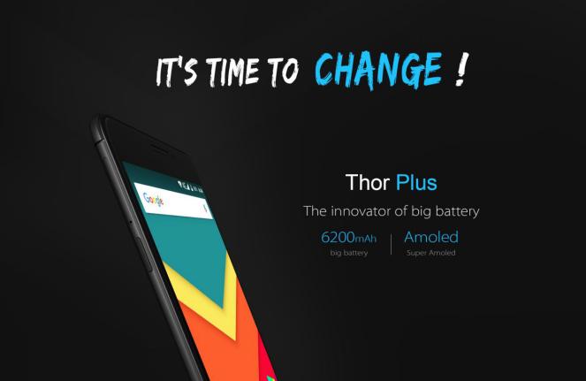 Vernee Thor Plus с аккумулятором на 6200 мАч поступил в продажу – фото 2