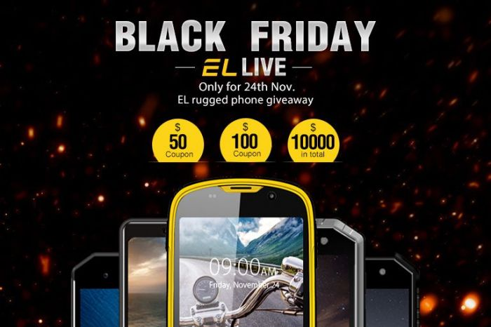 Черная пятница: скидки на защищенные смартфоны E&L – фото 1
