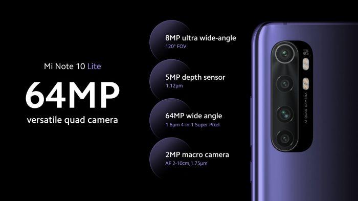 Дебют Xiaomi Mi Note 10 Lite: обновленный дизайн, проще камера и ниже ценник – фото 3