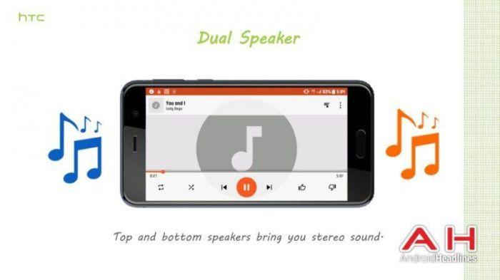 HTC U (Ocean): подробности о технологии Edge Sense, камере и фишках для меломанов – фото 4