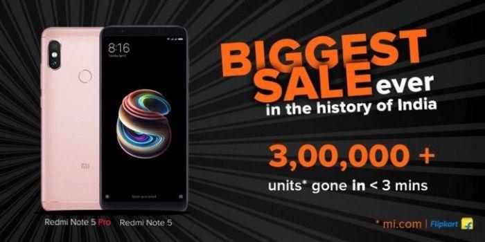 Xiaomi Redmi Note 5 Pro ставит рекорд продаж в Индии. Пользователи не верят в это – фото 1