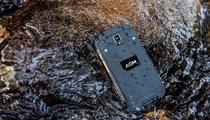 AGM A8 – защищенный смартфон с уровнем защиты IP68 и Android 7.0 Nougat – фото 2