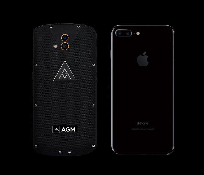 Сравнение камер: AGM X1 и iPhone 7 Plus – фото 1