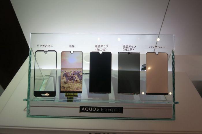Sharp Aquos R Compact — компактная вариация на Essential Phone – фото 4