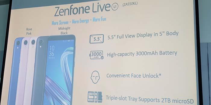 Представлен ASUS Live L1 — смартфон начального уровня – фото 3