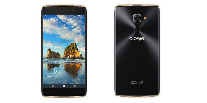 Alcatel Idol 4S с ОС Windows 10 Mobile выходит на европейский рынок – фото 1