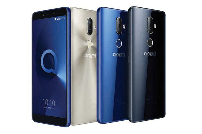 Презентация смартфонов Alcatel 5, 3V, 3X, 3 и 1X – фото 1