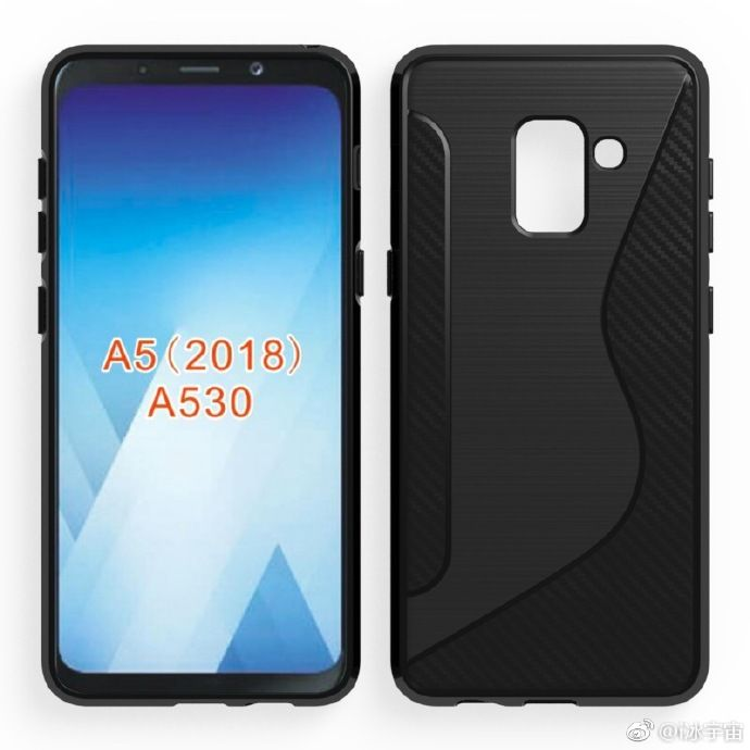 Рендеры Samsung Galaxy A5 (2018): вариация уменьшенного Samsung Galaxy S8 – фото 1
