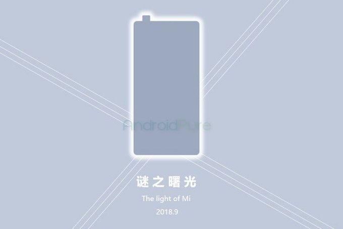 Тизер Xiaomi Mi Mix 3 с выдвижной камерой – фото 1
