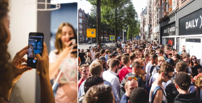Поставка OnePlus 5 задерживается, и компания похвасталась фото с очередями за флагманом по всему миру – фото 4