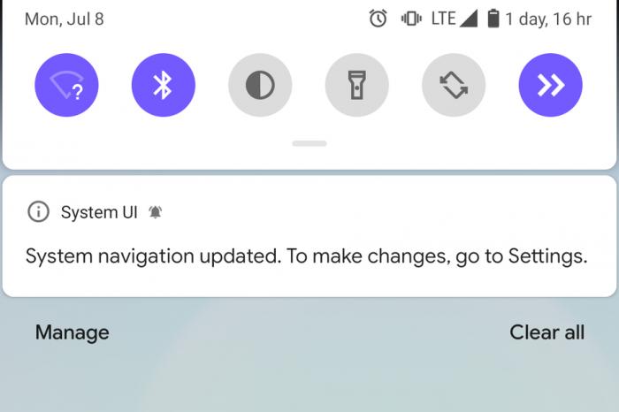 В Android Q жестовое управление не совместимо со сторонними лаунчерами – фото 1