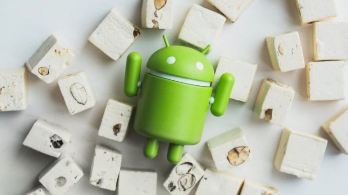 Android 6.0 Marshmallow достигла отметки в 24% и дебют Android 7.0 Nougat c 0,3% доли всех Android-устройств – фото 1