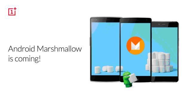 Android 6.0 Marshmallow для OnePlus One и OnePlus Two.