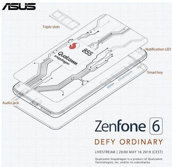 Изображения ASUS ZenFone 6: фасад в духе iPhone X и дизайнерский маневр с основной камерой – фото 4