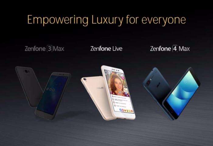 ASUS ZenFone 4, ZenFone 4 Max и ZenFone 4S представят на  Computex 2017 – фото 1