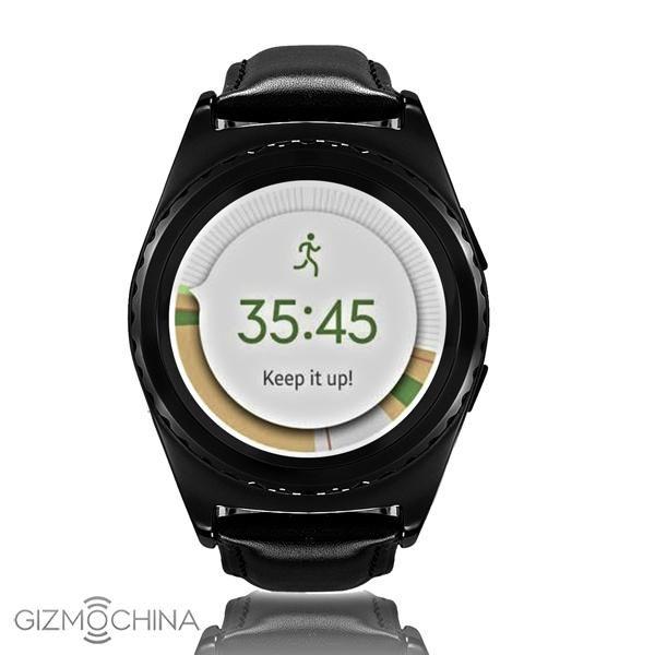No. G4: круглые умные часы всего за $40 – фото 1