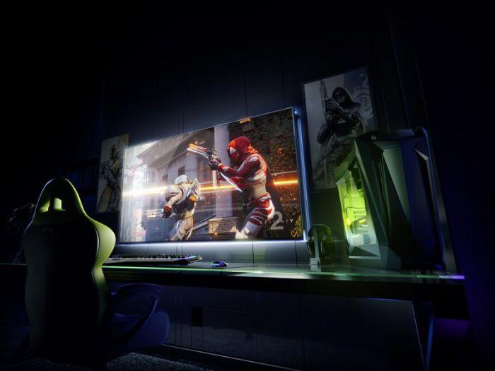 NVIDIA показала на CES 2018, что такое настоящий геймерский монитор – фото 1