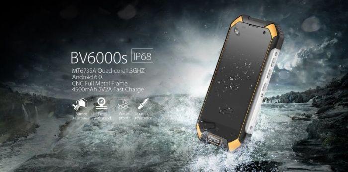 Смартфон BV6000S от Blackview - гаджет, который понравится любителям экстрима – фото 1