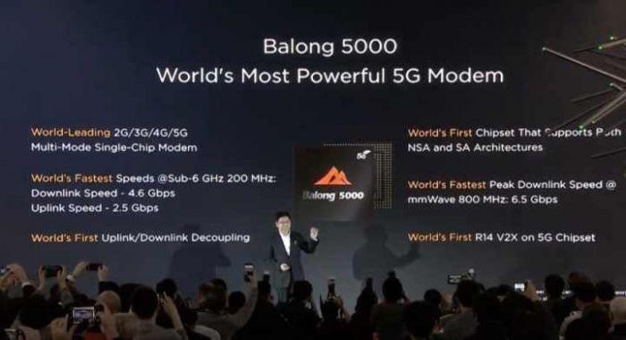 Модем Balong 5000 привнесет 5G в смартфоны Huawei – фото 3