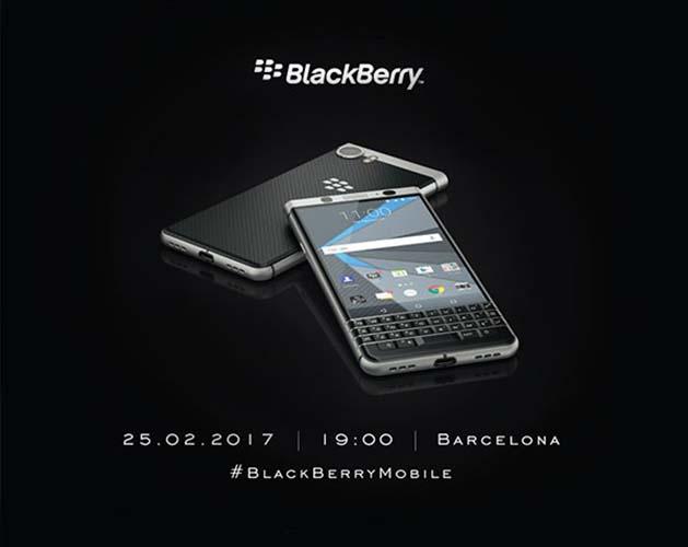 BlackBerry напоминает о предстоящем релизе кнопочного смартфона на MWC 2017 – фото 1