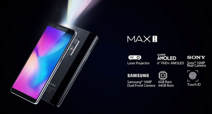 Blackview Max 1: сделали из смартфона проектор – фото 4