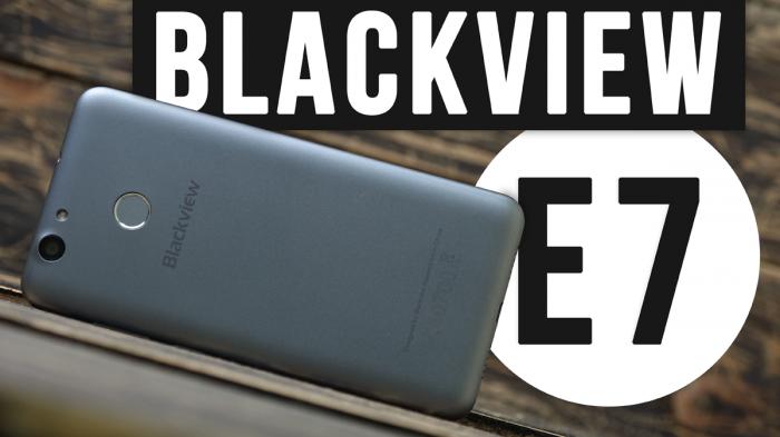 Blackview E7: распаковка смартфона, не требующего больших трат – фото 1