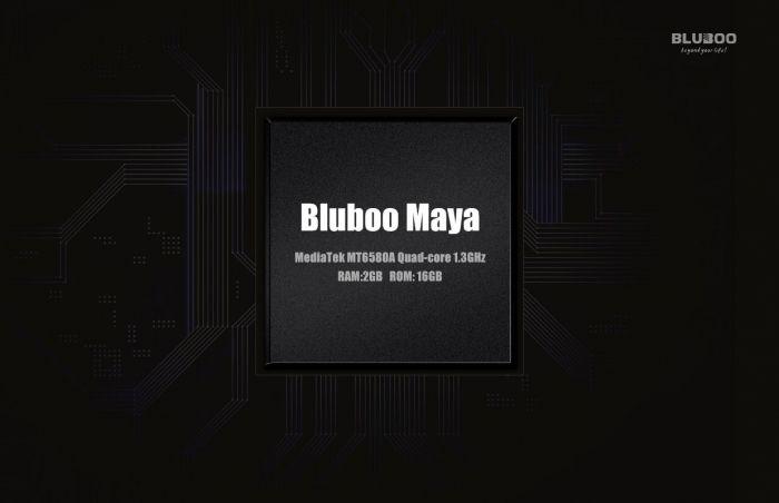 Бюджетный Bluboo Maya получит процессор МТ6580А и конфигурацию памяти 2+16 Гб – фото 1