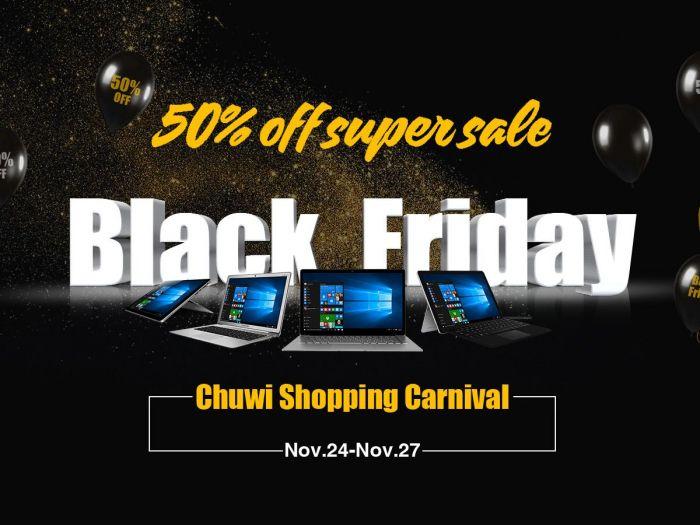 Покупаем планшеты и ноутбуки Chuwi со скидкой в Черную пятницу – фото 1