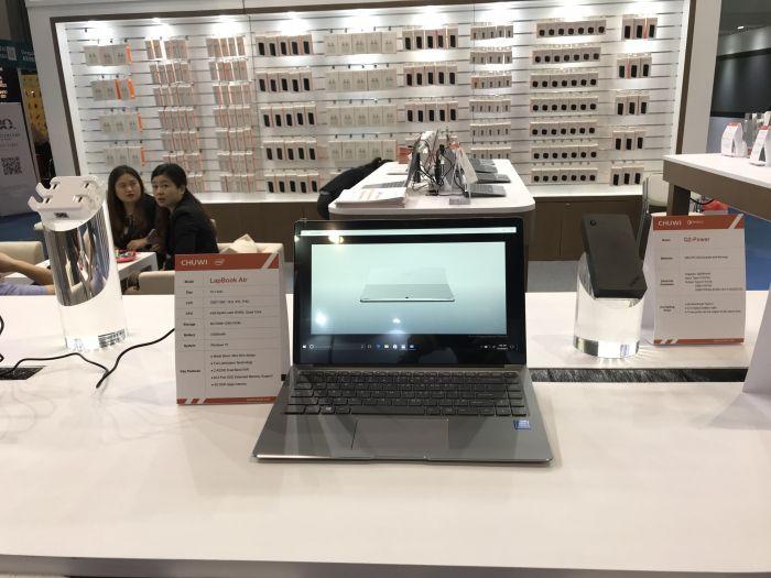 Chuwi SurBook mini показали в рамках выставки электроники в Гонконге – фото 3