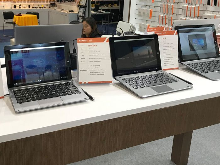 Chuwi SurBook mini показали в рамках выставки электроники в Гонконге – фото 1