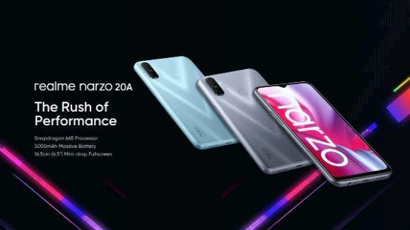 Представлены Realme Narzo 20, Narzo 20A и Narzo 20 Pro: характеристики и цена – фото 3