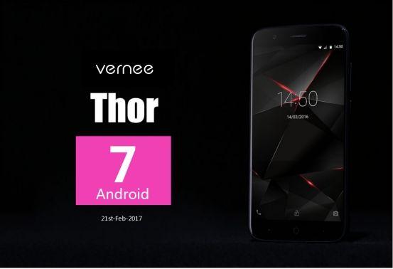 Обновление до Android 7.0 Nougat в пути к Vernee Thor – фото 1