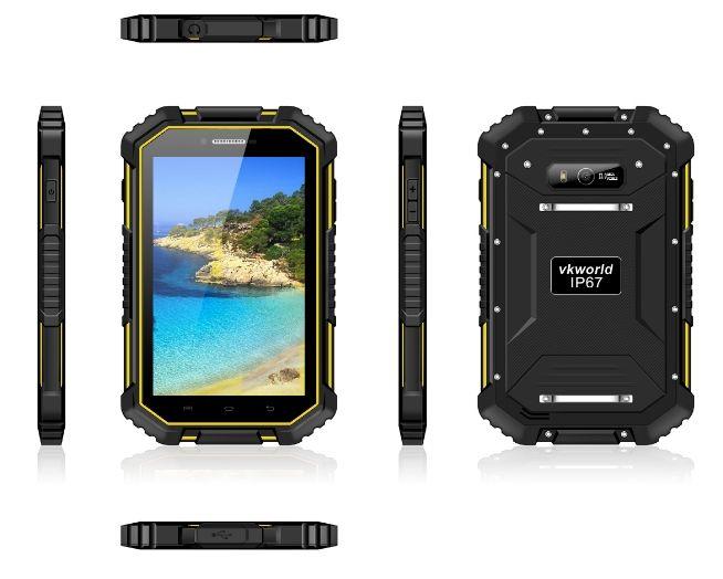 VKworld V6 – 7-дюймовый защищенный фаблет с аккумулятором на 12000 мАч – фото 1