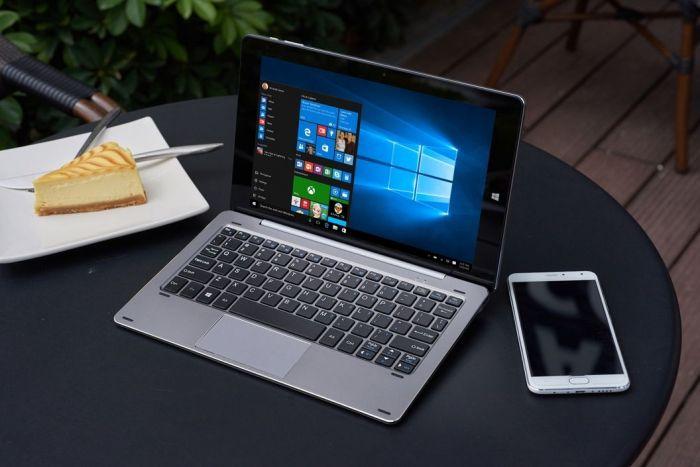 Гибридный Chuwi HiBook с 10,1-дюймовым дисплеем, процессором Intel Z8300 и официальным ценником $239 представят 28 марта в Twitter – фото 1
