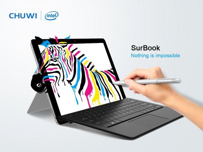 Планшет Chuwi SurBook — доступная альтернатива Microsoft Surface Pro – фото 1