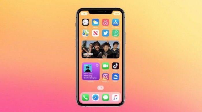 Виджеты iOS 14