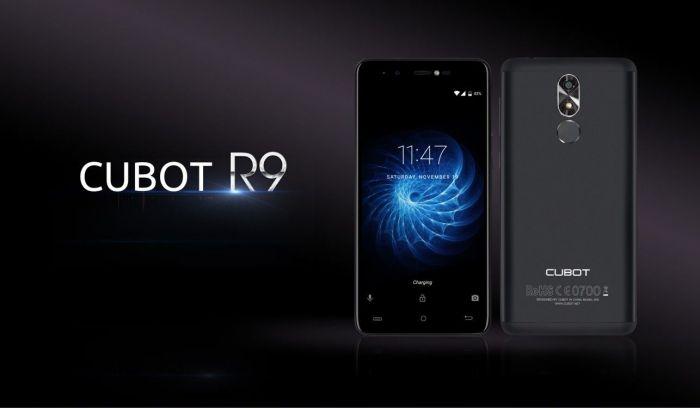 Cubot R9 — бюджетник со сканером отпечатков пальцев – фото 1
