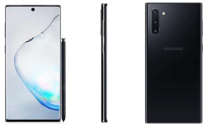 Пресс-рендеры Samsung Galaxy Note 10 – фото 2